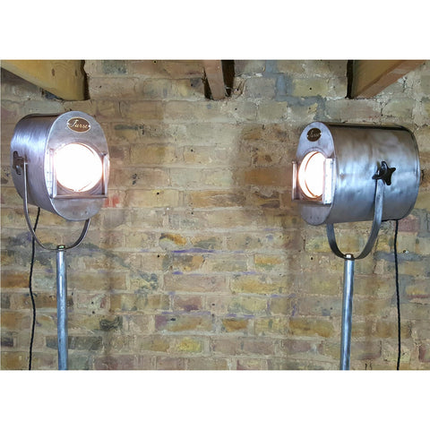 Furse Vintage Original Theatre Lights - Junk Art Design @junkartdesign www.junkartdesign.co.uk