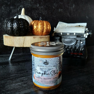 Pumpkin Slut candle - glass jar