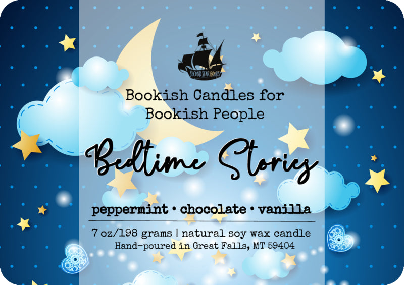 Bedtime Stories candle - glass jar