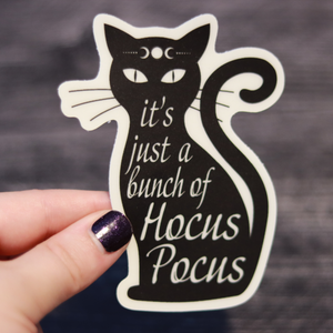 It's Just a Bunch of Hocus Pocus Glow-in-the-dark Vinyl Sticker