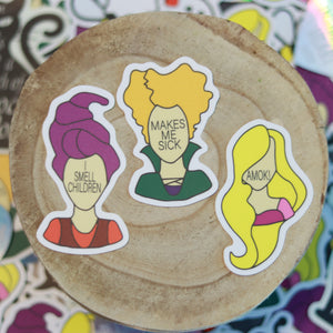 It's Just a Bunch of Hocus Pocus Vinyl Sticker Pack