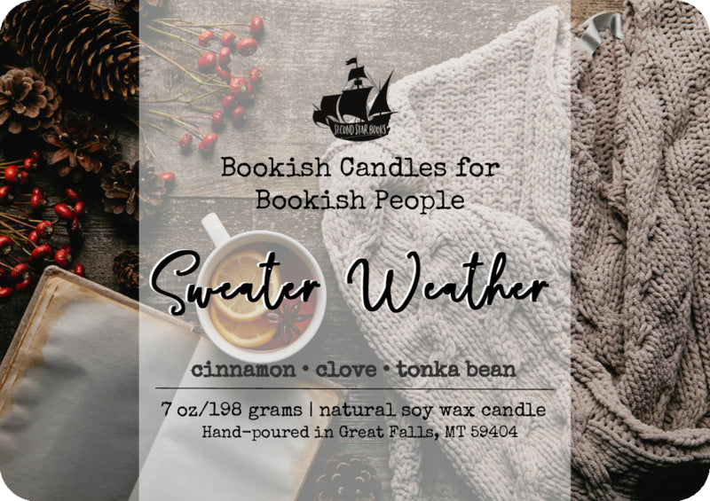 Sweater Weather candle - glass jar
