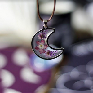 Botanical Moon Necklace