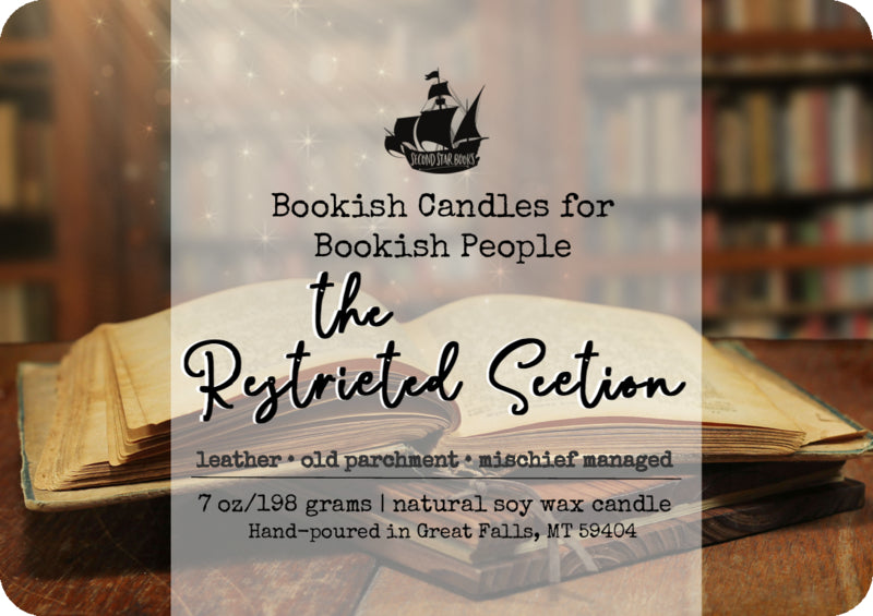 The Restricted Section candle