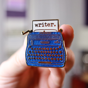 Writer. Enamel Pin