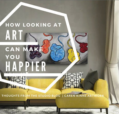 Looking at Art Can make you happier