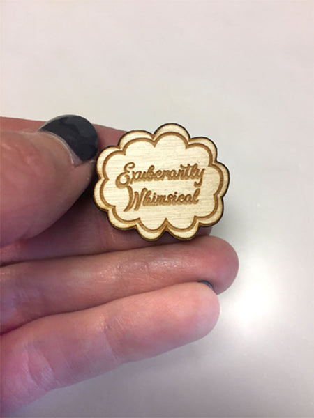 Exuberantly Whimsical Lapel Pin