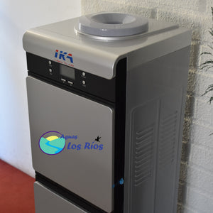 Dispensador configurable de agua fria y caliente con compresor IKA