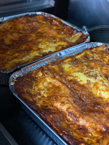 Homemade Lasagne Tray