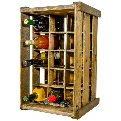 15 Bottle Wine Rack
