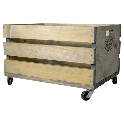 Standard Crate with Lid & Optional Wheels
