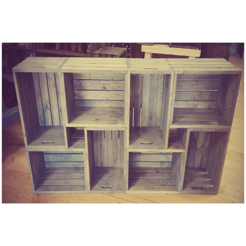 8 Crate Bookcase