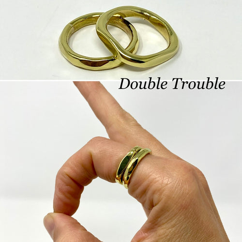 Double Trouble ring