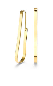 Dew frontal linear drop earring