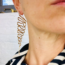 Hieroglyph earrings