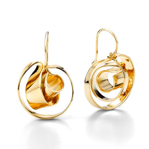 Mobius © drop earrings