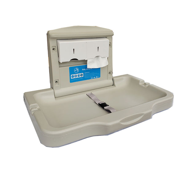 Mudador horizontal PL-H  II, con dispensador de papel, BATH CARE