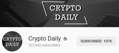 Daily Crypto youTube news channel