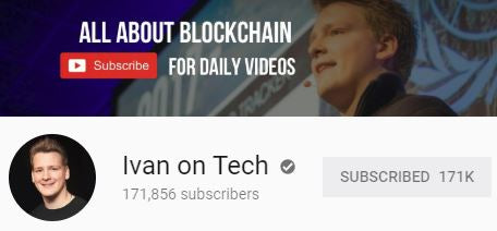 Ivan Bitcoin YouTube channel