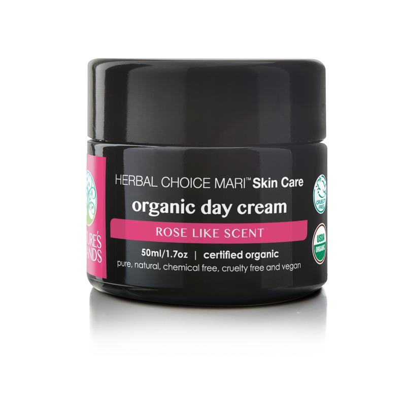 ORGANIC AND NATURAL DAY CREAM