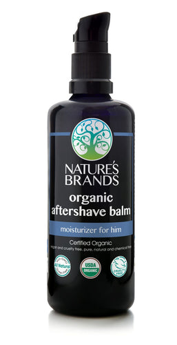 Organic Aftershave, Moisturizing Balm