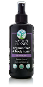Organic Face & Body Toner, All Skin Types