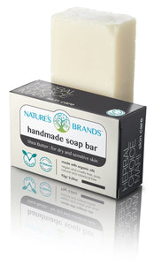 Natural Handmade Soap Bar, Shea Butter; 3.2oz