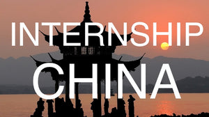 Your Internship In China