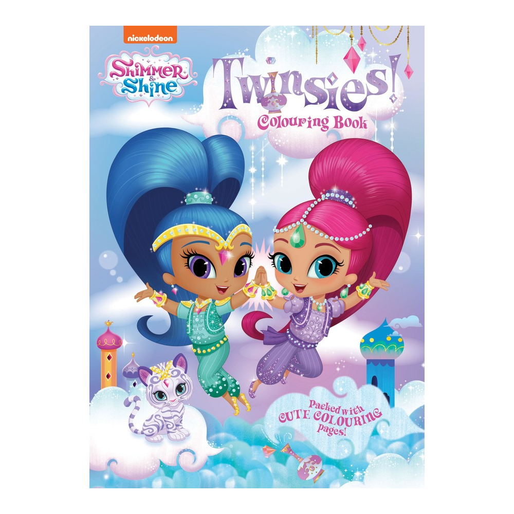 Shimmer and Shine Twinsies Colouring Book