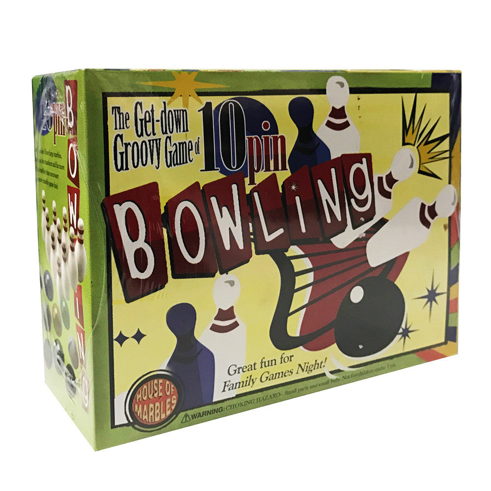 10 PIN BOWLING BY HOUSE OF MARBLES