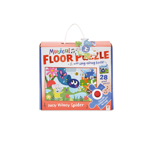 Musical Floor Puzzle: Incy Wincy Spider