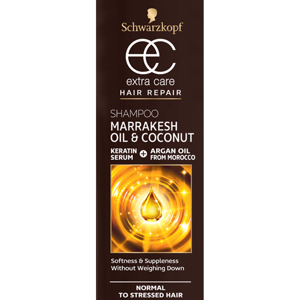 Schwarzkopf Extra Care Shampoo: Marrakesh Oil & Coconut (600ml)