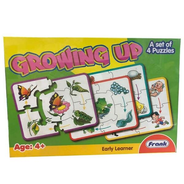 Growing Up - 4 Set Puzzle(20 Pieces)