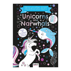 Scratch Art: Unicorns and Narwhals