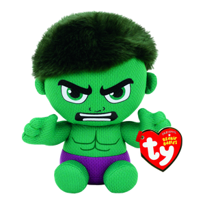 "Ty Beanie Babies 6"" Marvel The Incredible Hulk"