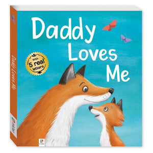 Lovely Letters: Daddy Loves Me Book