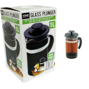 French Press Tea & Coffee Plunger - 1L