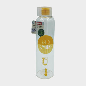Decor Pure Glass Water Bottle - 500ml