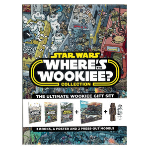 Star Wars Where's the Wookiee? 3 Book Collection