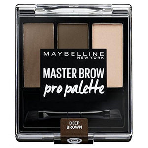 Maybelline Master Brow Pro Palette - 3.4g - Deep Brown
