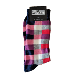 Sock Standard - Red Checkered