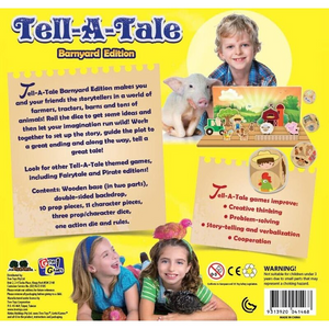 Tell-A-Tale - The Cooperative Storytelling Game: Barnyard Edition