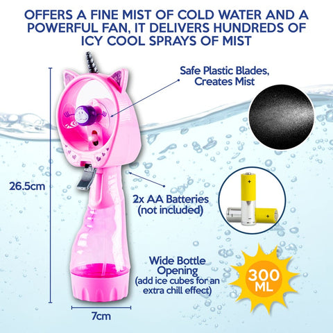 Water Misting Spray Fan
