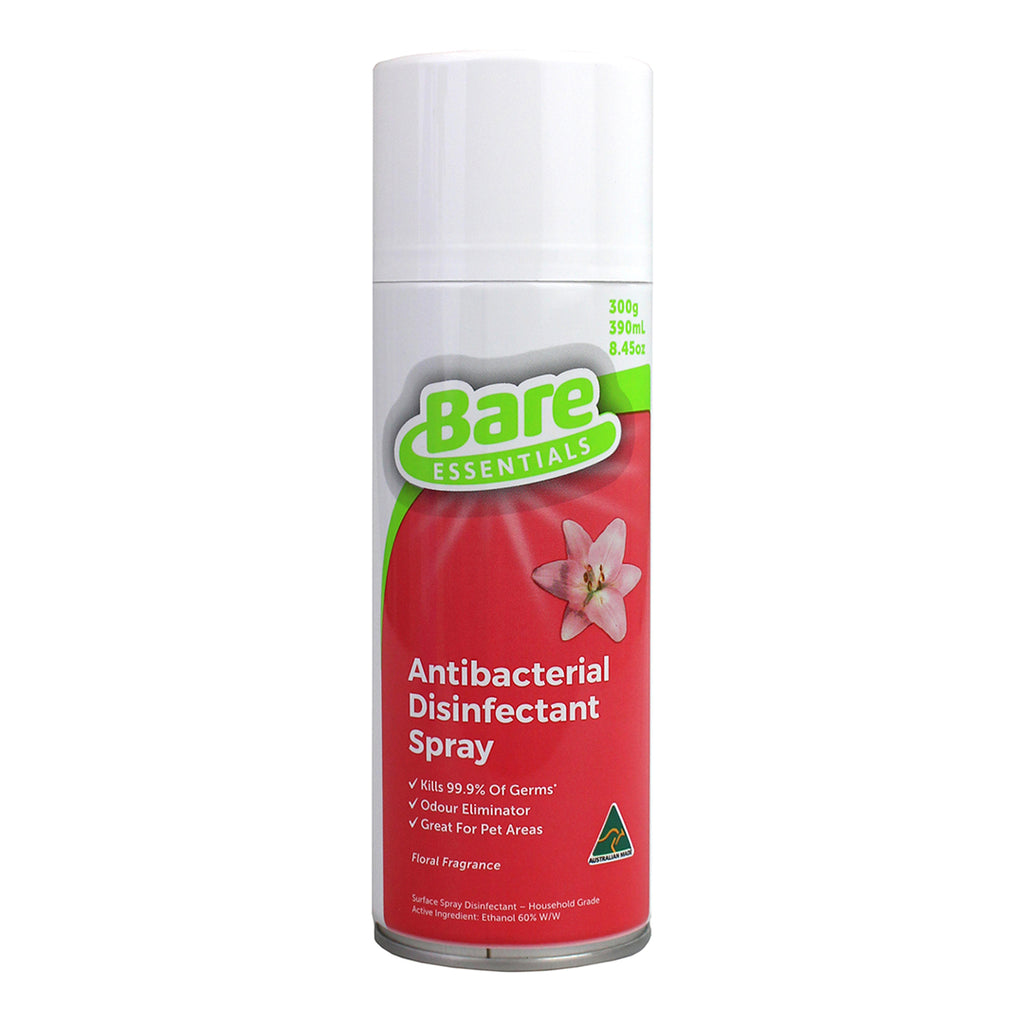 Bare Essentials Antibacterial Disinfectant Spray - Floral Fragrance - 300g
