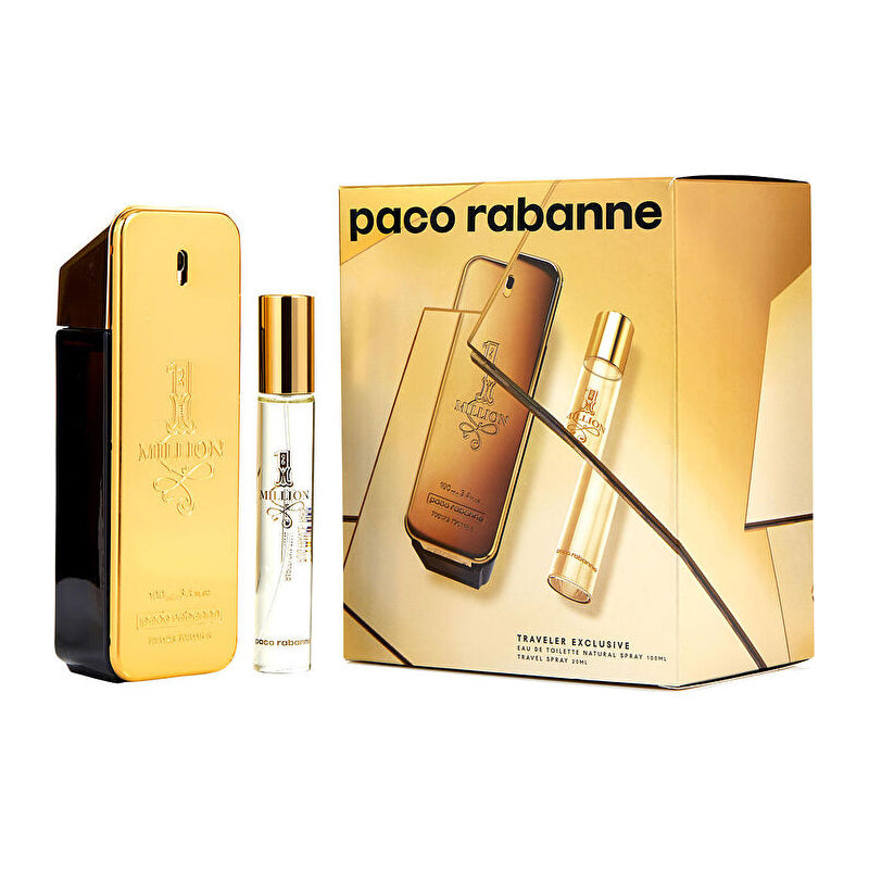 1 Million by Paco Rabanne for Men - 2 Pc Gift Set