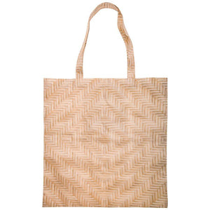Woven Prints Foldable Shopper - Assorted