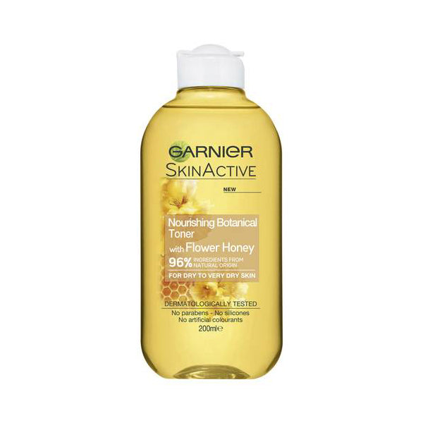 Garnier SkinActive Naturals Nourishing Botanical Toner with Flower Honey 200ml