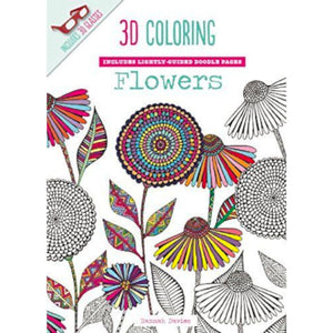 3D Colouring - Flowers