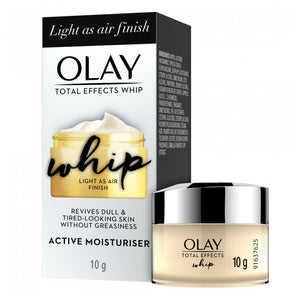 Olay Total Effects Whip Active Moisturiser - Light As Air Finish 10g