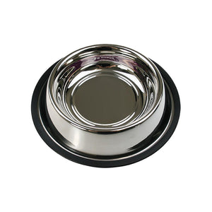 Paws & Claws Stainless Steel Anti-Slip Pet bowl - 700ml